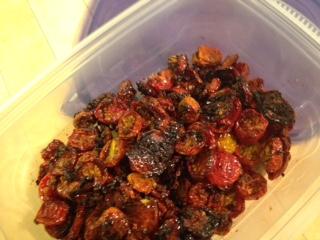 Dried Oven Roasted Cherrt Tomato Recipe ~ SweeT!