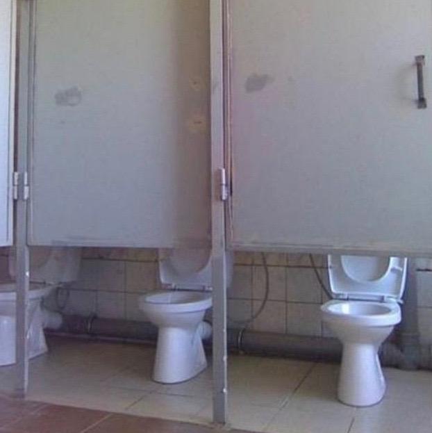 you had one job fails high toilet stall doors - Bathroom Stall Door